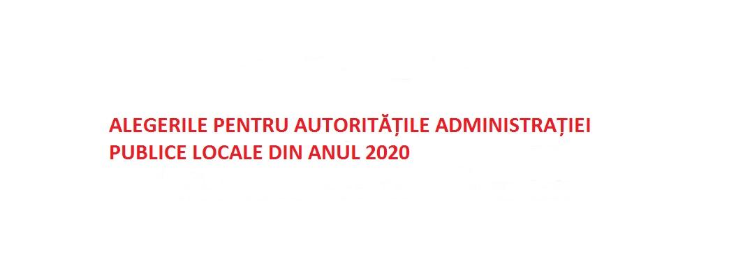 Alegeri Locale 2020